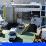 Naviera Armas estrena nueva rampa en el puerto de Los Cristianos y reanuda servicio con La Gomera