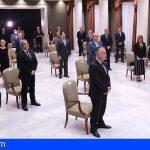 El Parlamento de Canarias homenajeó a la sociedad y recordó a las víctimas del Covid-19