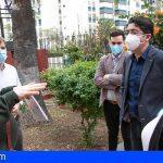 Pedro Martín visita un recurso de Cáritas para impulsar la labor de las entidades sociales