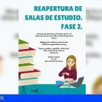 Reabren las salas de estudio de Guía de Isora y Playa San Juan