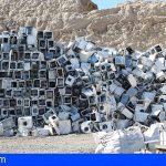 Canarias acumuló 1.377 toneladas de residuos electrónicos, viendo difícil alcanzar los objetivos ecológicos 2020