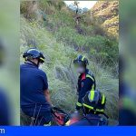 Tenerife | Rescatan a un hombre tras caer al barranco de Tahodio