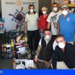 Rotary Club Tenerife Sur y voluntarios ponen en marcha la iniciativa «NINGÚN HOGAR SIN ALIMENTOS»