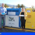 Granadilla supera con éxito la media de Canarias en la recogida selectiva por parte de la población