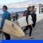 Habilitan cuatro zonas en Las Galletas, Los Cristianos y Las Américas para practicar Surf