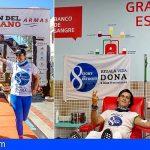 '8 islas, 8 maratones, regala vida', Mérito Nacional de la Federación Española de Donantes de Sangre