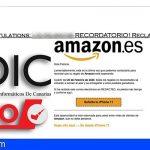 """Ciberestafa suplantando a Amazon """"Reclama tu recompensa"""""""
