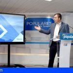 """El PP presenta el plan """"Activemos Tenerife"""""""