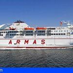 Canarias | El ferry Volcán de Taburiente se reincorpora tras su varada anual reglamentaria