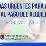 Canarias amplía hasta los 12 millones las ayudas al alquiler para afectados por el Covid-19
