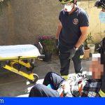 Rescatan a un hombre en Pto. de la Cruz, tras pasar varios días en el suelo de su casa al caerse