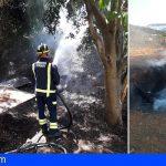 Bomberos de Tenerife extinguió siete incendios en basuras y rastrojos durante el fin de semana