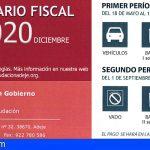Adeje amplía el calendario fiscal de 2020