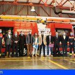 Tenerife invierte 300.000€ en cuatro nuevos vehículos de rescate para Bomberos