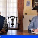 Stgo. del Teide firma el convenio que abastecerá de agua potable la zona turística