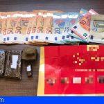 Dos detenidos en Adeje con 273 gramos de hachís y 870€