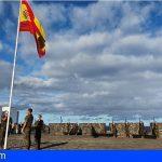 El Ejército de Tierra en Canarias rinde homenaje a las Víctimas del Covid-19
