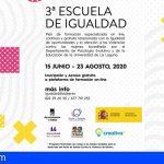 La III edición de la Escuela de Igualdad de Adeje online contará con más de 300 participantes