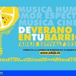 «De verano en tu barrio. Adeje Estival 2020»