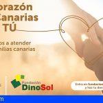 Fundación DinoSol activa un programa de ayuda para familias en riesgo de exclusión social