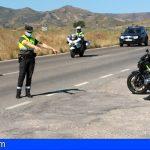 Sorprenden a dos motoristas circulando a 191 km en una vía de 70 km y 144 km en una vía de 50 km