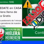 ¡Cuidado! utilizan la imagen de Heineken para una falsa promoción en whatsapp