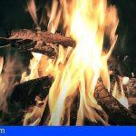 Tenerife prohíbe las hogueras de San Pedro la zona de riesgo por incendios forestales