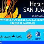 San Miguel prohíbe las hogueras de San Juan en espacios públicos y establece normas para los privados