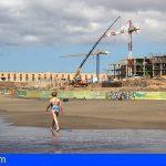 El Ayuntamiento comunica que las obras del hotel en La Tejita cuenta con todos los permisos