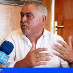 Jaime Cejas en 2014 veía con satisfacción la ejecución del hotel en La Tejita