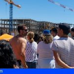 Sí Podemos Granadilla vuelve a exigir la paralización del hotel en la playa de la Tejita
