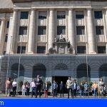 Tenerife guardó un minuto de silencio tras los diez días de luto por las víctimas del Covid-19