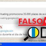 ODIC | Suplantan a Vueling en WhatsApp, «regalando 35.000 viajes»
