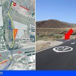 San Miguel | Las obras del tercer carril de la TF-1 obligan a cortar el camino de Los Erales por 2 semanas