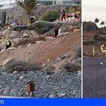 Adeje | Un parapentista herido grave tras sufrir una caída en Playa de La Enramada