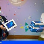 El SCS y Pequeño Valiente reciben 100 tablets y smartphones de la Fundación Orange