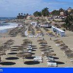 Adeje | Bahía del Duque Beach se suma a la reapertura de las playas Duque Sur y Norte
