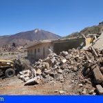Hoy comenzó la demolición del refugio de montañeros de Ucanca construido en los 40