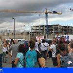 La asociación «Salvar la Tejita» manifiesta su apoyo a las activistas en las obras del hotel