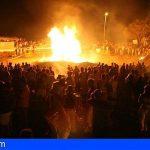 Arona recuerda la suspensión de las hogueras de San Juan para evitar aglomeraciones de público