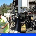 Guía de Isora | Una protección de hormigón sustituirá las barreras metálicas de protección de la TF-82