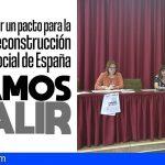 UGT y CCOO Canarias convocan a la ciudadanía para reivindicar un 'Pacto para la Reconstrucción de España'