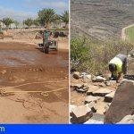 San Miguel continúa con los trabajos y limpieza en varios caminos y las mejoras de polideportivos