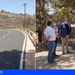 Granadilla | Finalizan las obras de asfaltado de la TF-555 entre Chimiche y Las Vegas