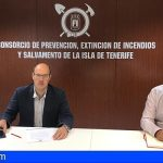 El nuevo oficial jefe de Bomberos de Tenerife, Florencio López, tomó posesión de su cargo