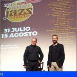 La 29ª edición del Festival Canarias Jazz & Más llegará a todas las islas