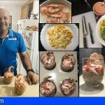 Juan Santana | Cocktail de gambas Barbuzano