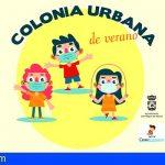 Diez menores de San Miguel participan en la Colonia Urbana de Verano de Caixaproinfancia