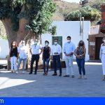 Stgo. del Teide | Firmada el acta de recepción de mejora del espacio urbano de La Hoya en Valle de Arriba