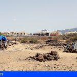Arona pedirá la colaboración del Estado para el desalojo ordenado del asentamiento en playa de Las Burras